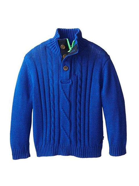 Nautica  Boys' Cable Knit Sweater by Nautica - My100Brands