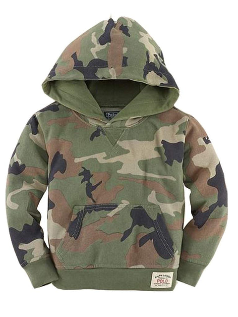 Ralph Lauren Boys' Camouflage Hoodie by Ralph Lauren - My100Brands