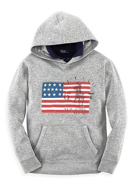 Ralph Lauren Boys' Flag Hoodie by Ralph Lauren - My100Brands