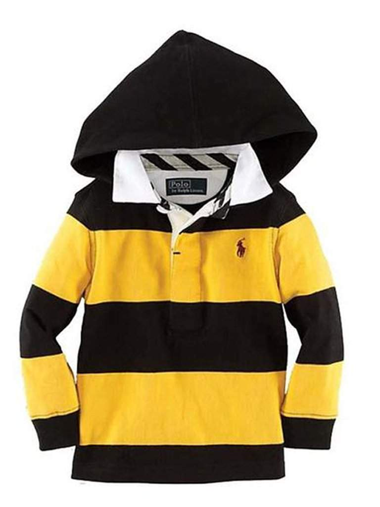 Ralph Lauren Polo Boys' Hoodie Rugby Pullover Shirt by Ralph Lauren - My100Brands