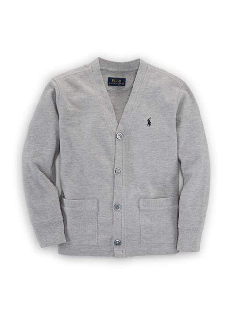 Ralph Lauren Polo Cotton Mesh Cardigan by Ralph Lauren - My100Brands