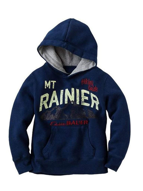 Eddie Bauer Mt Rainer Fleece Hoodie by Eddie Bauer - My100Brands