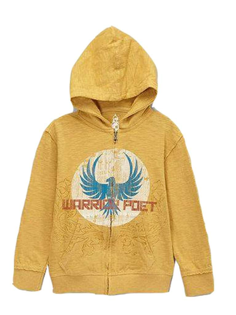 Warrior Poet Boys' Eagle Moon Hoodie by Warrior Poet - My100Brands