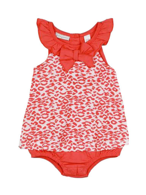 Baby Girls' Leopard Print Sunsuit by My100Brands - My100Brands