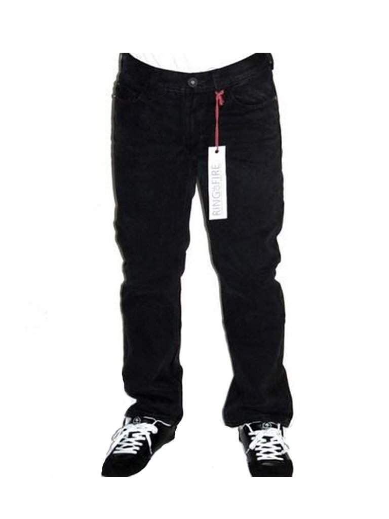 Ring Of Fire Boys' Slim Straight Hillside Black Denim Jeans by Ring Of Fire - My100Brands