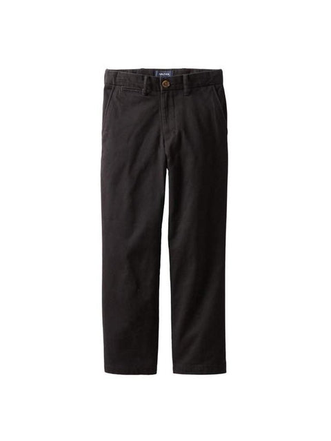 Nautica Big Boys' Flat Front Twill Pant by Nautica - My100Brands