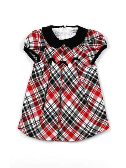 Hartstrings Baby Girl Plaid Dress by Hartstrings - My100Brands