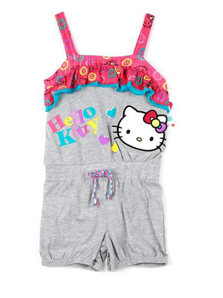 Hello Kitty Girls Graphic Print Romper by Hello Kitty - My100Brands