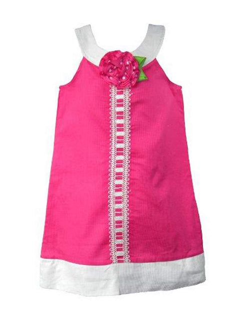 Good Lad Girl's Fuchsia Birthday Dress by Good Lad - My100Brands