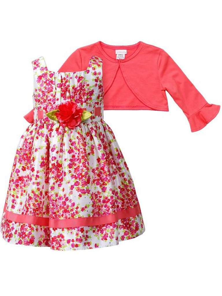 Youngland Rose Soutache Dress and Cardigan Set by Youngland - My100Brands