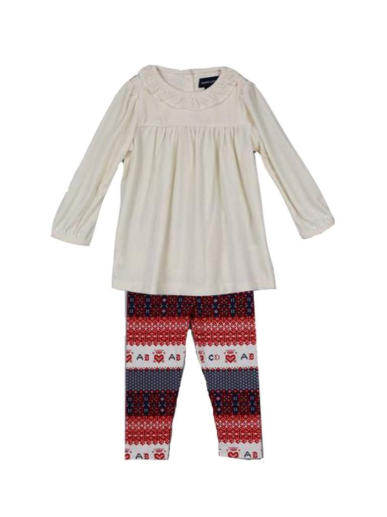 Ralph Lauren Baby Girl 2 piece Set by Ralph Lauren - My100Brands