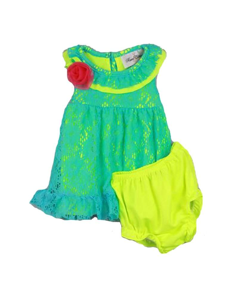 Rare Editions Baby Girls' 2-Piece Dress & Pant by Rare Editions - My100Brands