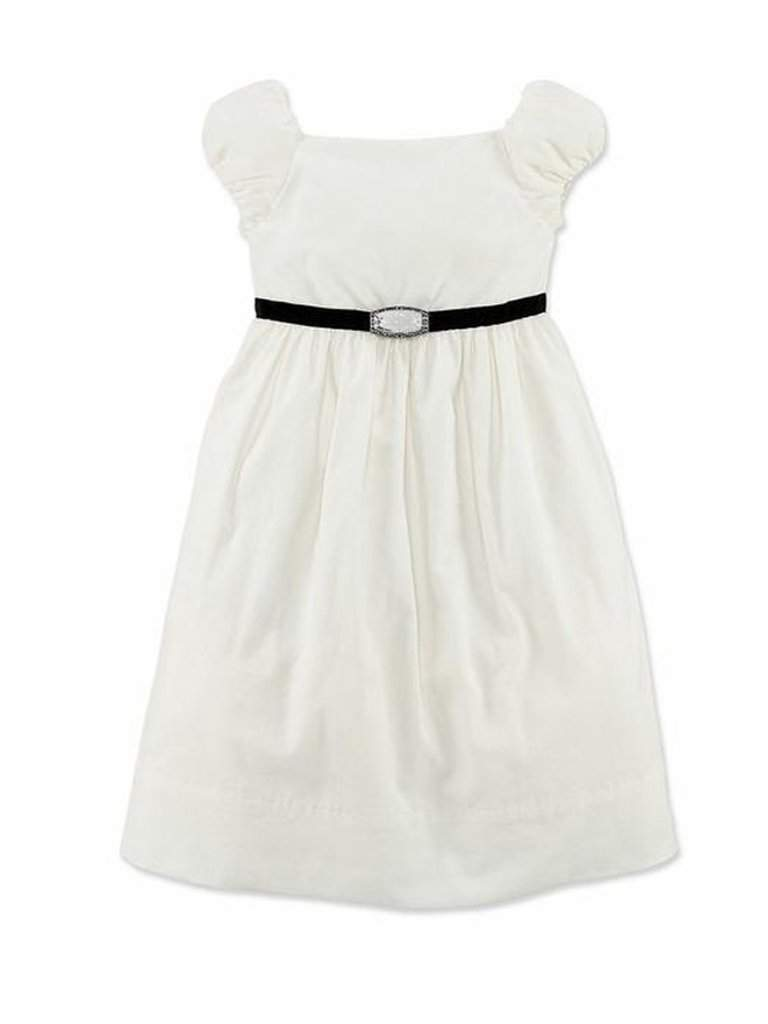 Ralph Lauren Girls' Short Sleeve Cord Party Dress by Ralph Lauren - My100Brands