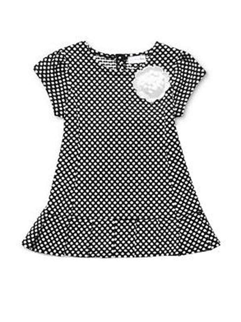 Sweet Heart Rose Girls' Polka Dot Dress by Sweet Heart Rose - My100Brands