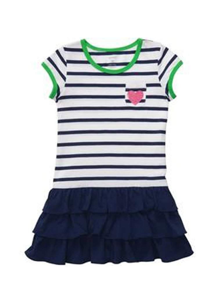 Carter's Little Girls' Knit Ruffle Dress by Carters - My100Brands