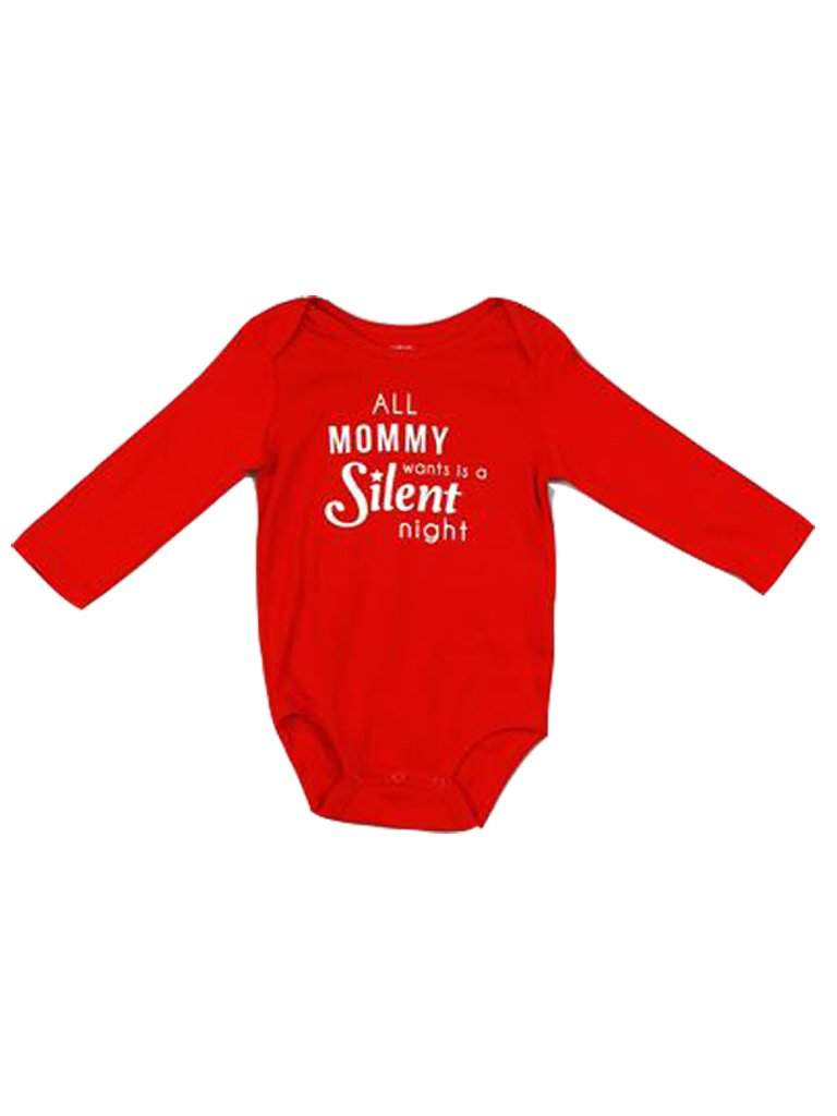 Carter's All Mommy Wants Is A Silent Night Bodysuit by Carters - My100Brands