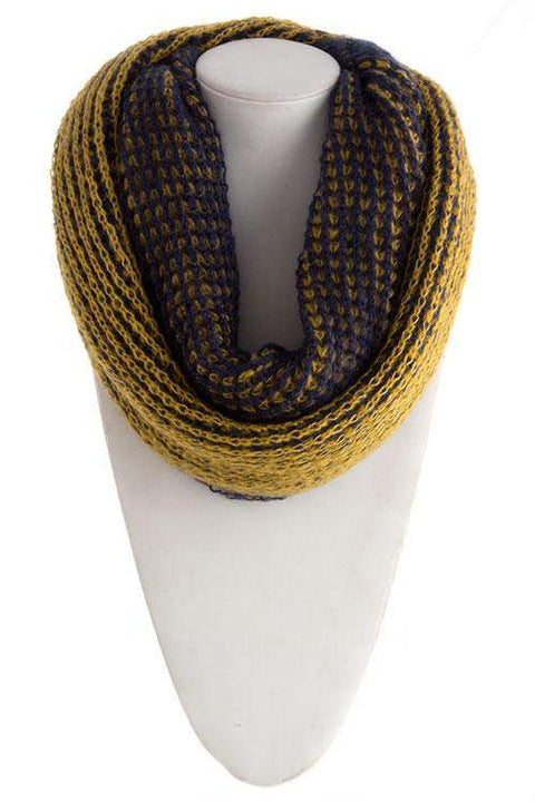 Double Side Heavy Infinity Scarf by My100Brands - My100Brands