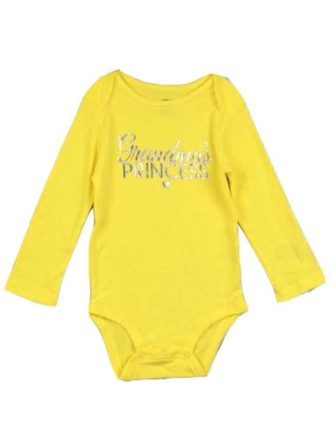 Carter's Long Sleeve Grandma's Princess Bodysuit by Carters - My100Brands