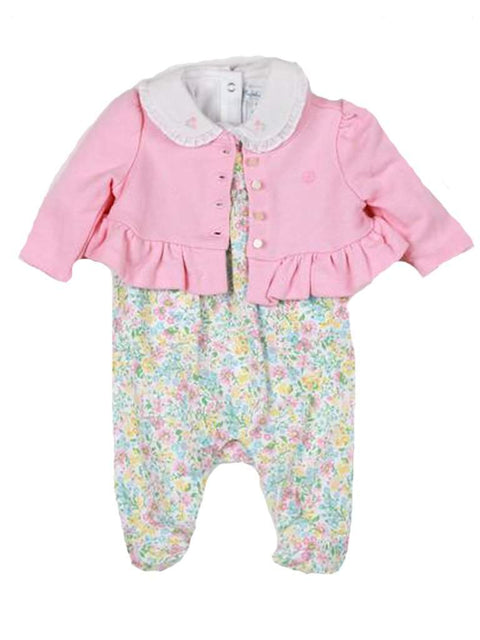 Ralph Lauren Girls' Layette Coverall Bodysuit Cardigan 3-Pc Set by Ralph Lauren - My100Brands