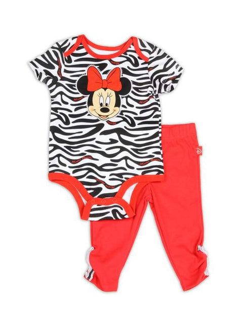 Disney Minnie Mouse Girls' 2-Pc Set by Disney - My100Brands