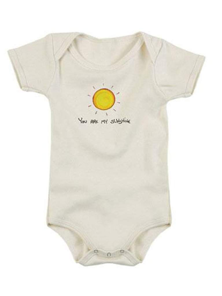 Kee-Ka Organics Short Sleeve Bodysuit - You Are My Sunshine by Kee-Ka Organics - My100Brands