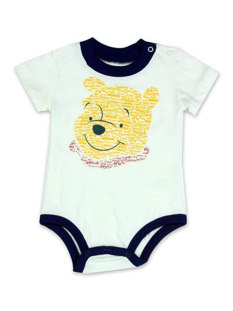 Disney Winnie The Pooh Boys' Bodysuit - Cream by Disney - My100Brands