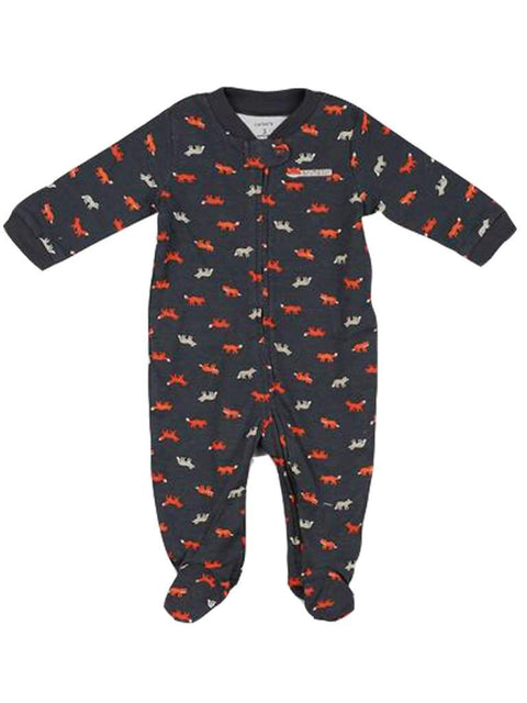 Carter's Printed Fox Footed Bodysuit by Carters - My100Brands