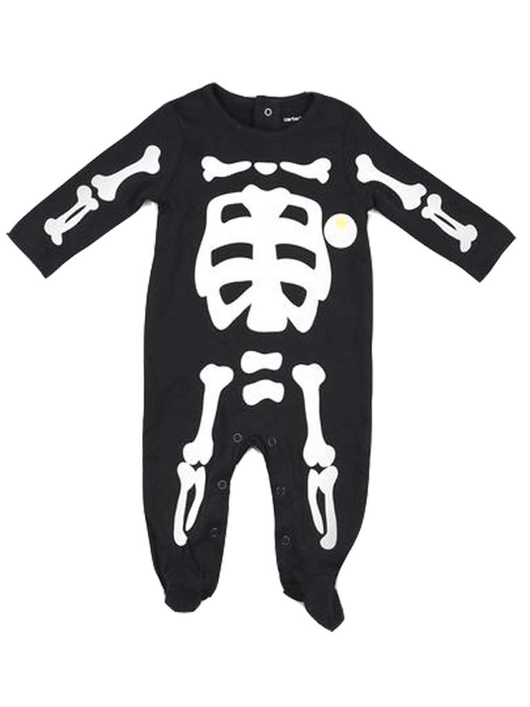 Carter's Skeleton Footed Bodysuit by Carters - My100Brands