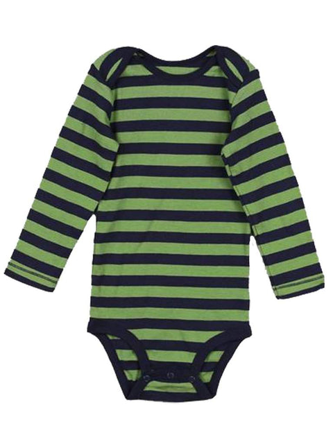 Carter's Long Sleeve Striped Bodysuit by Carters - My100Brands