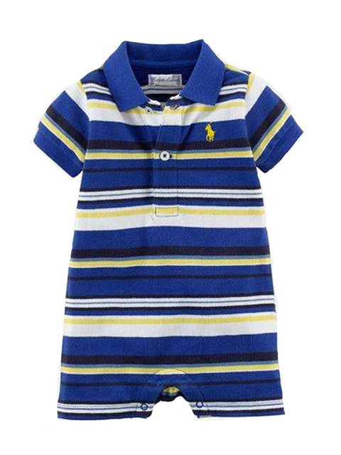 Ralph Lauren Baby Boys' Striped Romper by Ralph Lauren - My100Brands