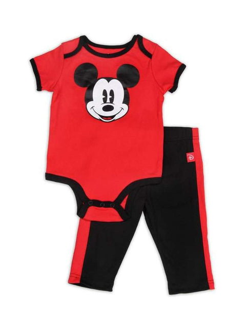 Disney Mickey Mouse Boys 2pc Set Red by Disney - My100Brands