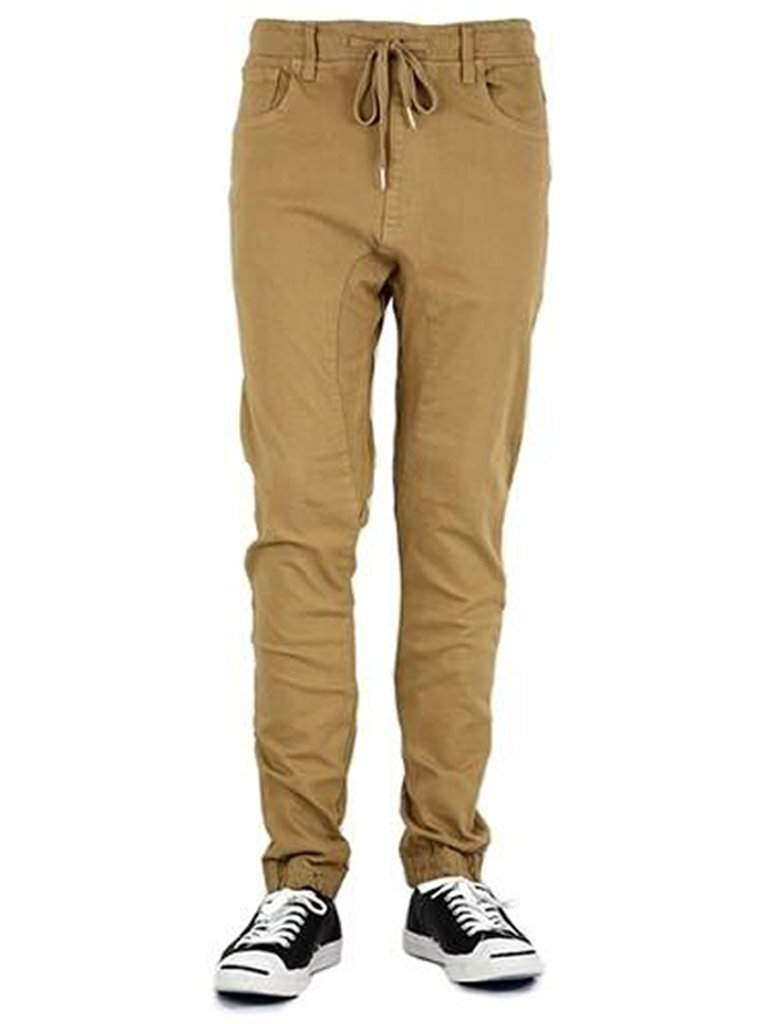 Premium Denim Jogger Pants with Comfort Stretch by Premium Denim - My100Brands