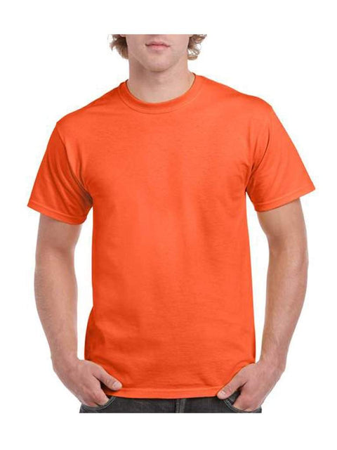 Men's Orange T-Shirt by My100Brands - My100Brands