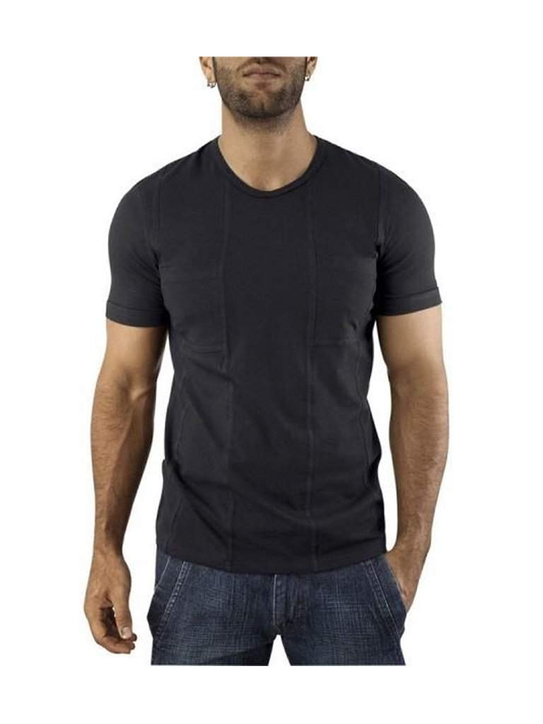 Vuthy Pocket Black T-Shirt by Vuthy - My100Brands