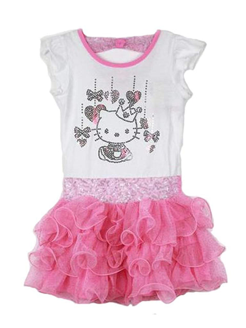 Hello Kitty Little Girl's Princess Tutu Dress by Hello Kitty - My100Brands
