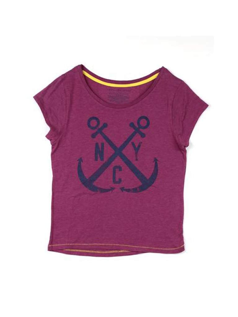 Tommy Hilfiger Girl's Anchor Graphic T-shirt by Tommy Hilfiger - My100Brands