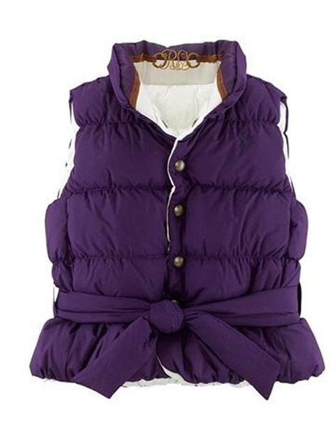 Ralph Lauren Girls Reversible Down Vest by Ralph Lauren - My100Brands