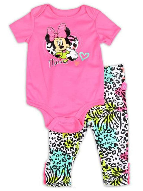 Disney Minnie Mouse Girls 2pc Set by Disney - My100Brands