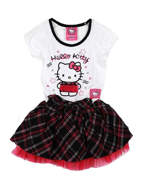 Hello Kitty Plaid Dress by Hello Kitty - My100Brands