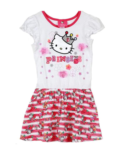 Hello Kitty Dress with Mesh Flowers by Hello Kitty - My100Brands