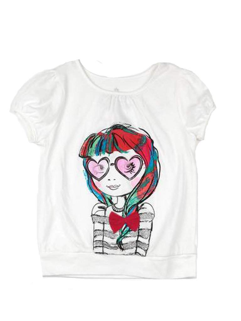 Girls' Graphic Tee by My100Brands - My100Brands