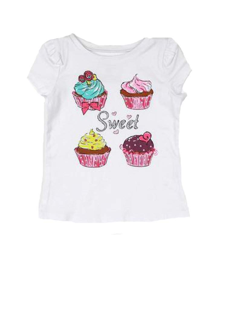 Jenni Cupcake Graphic Tee by My100Brands - My100Brands