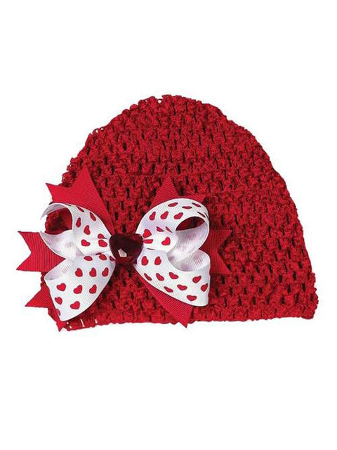 Bearington Baby Collection Lil' Valentine Crochet Hat by Bearington Baby Collection - My100Brands