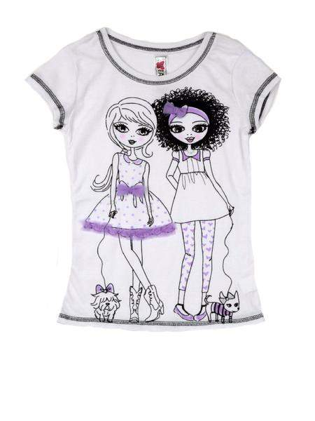 Beautees Two Girls Graphic Tee by Beautees - My100Brands