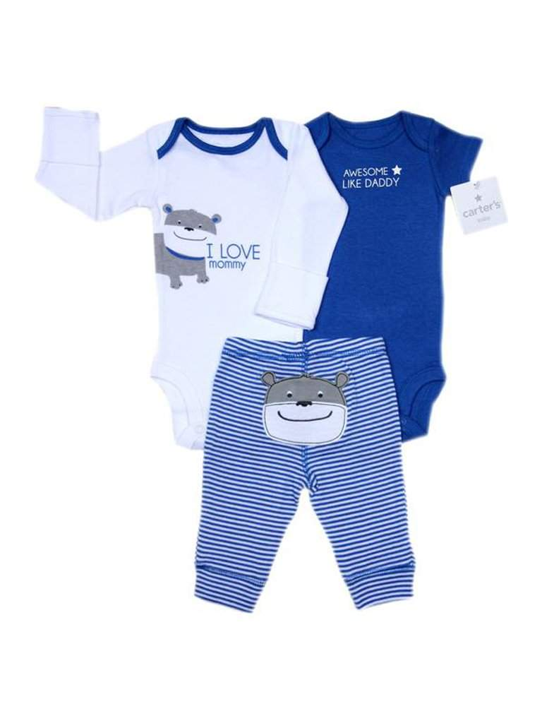 Carter's Boy's Awesome Like Daddy 3-Pc Set by Carters - My100Brands