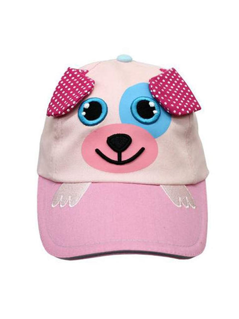 Safari Kids Darla The Pink Puppy Ball Cap by Safari Kids - My100Brands
