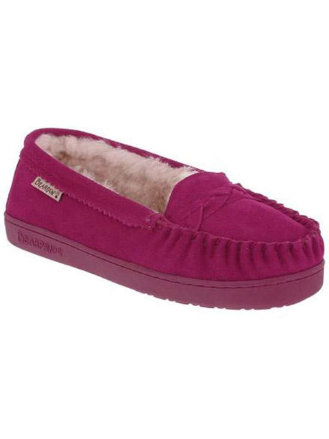 Bearpaw Brigetta Pom Berry Fuchsia Shoes by Bearpaw - My100Brands