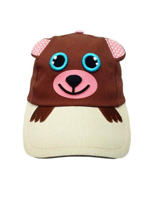 Safari Kids Beth The PIink Bear Ball Cap by Safari Kids - My100Brands