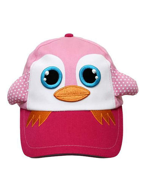 Safari Kids Paulina The Pink Penguin Ball Cap by Safari Kids - My100Brands