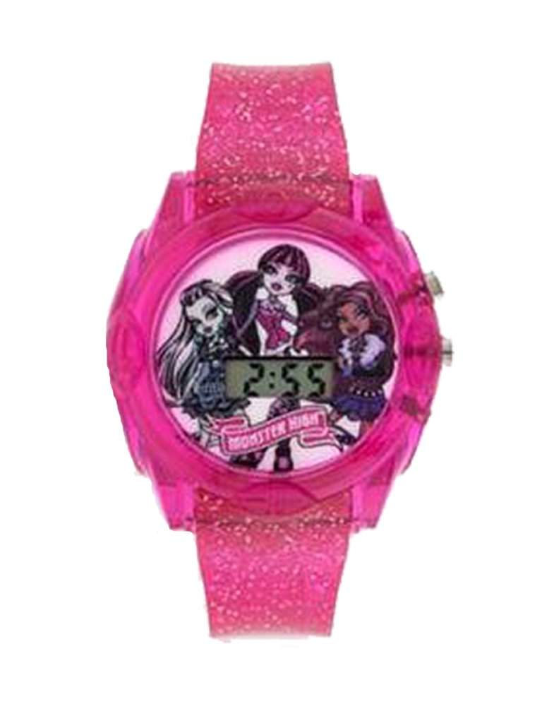 Monster High Pink Light-Up Digital Kids' Watch by Monster High - My100Brands